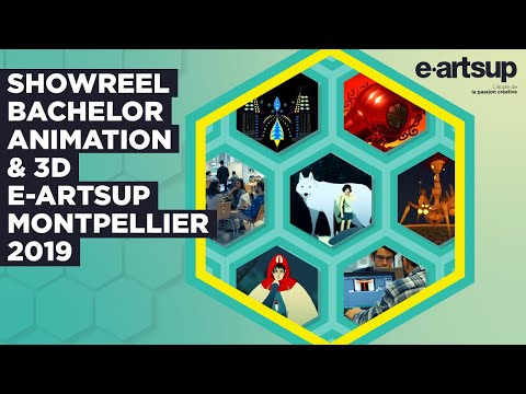 Showreel Bachelor Animation & 3D, Montpellier 2019