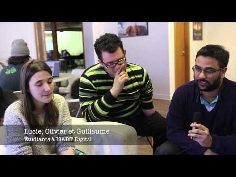 Sur les bancs d'ISART Digital, école française de jeux vidéos à Montréal