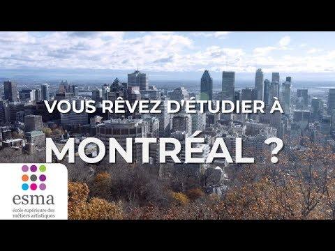 ESMA Montréal - Venez étudier l'Animation 3D au Canada !