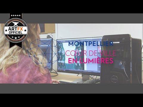 // ArtFX OFFICIEL // Montpellier Cœur de Ville en Lumières 2018 - Making-of