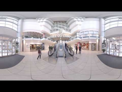 Venez faire une visite virtuelle 360 de notre campus