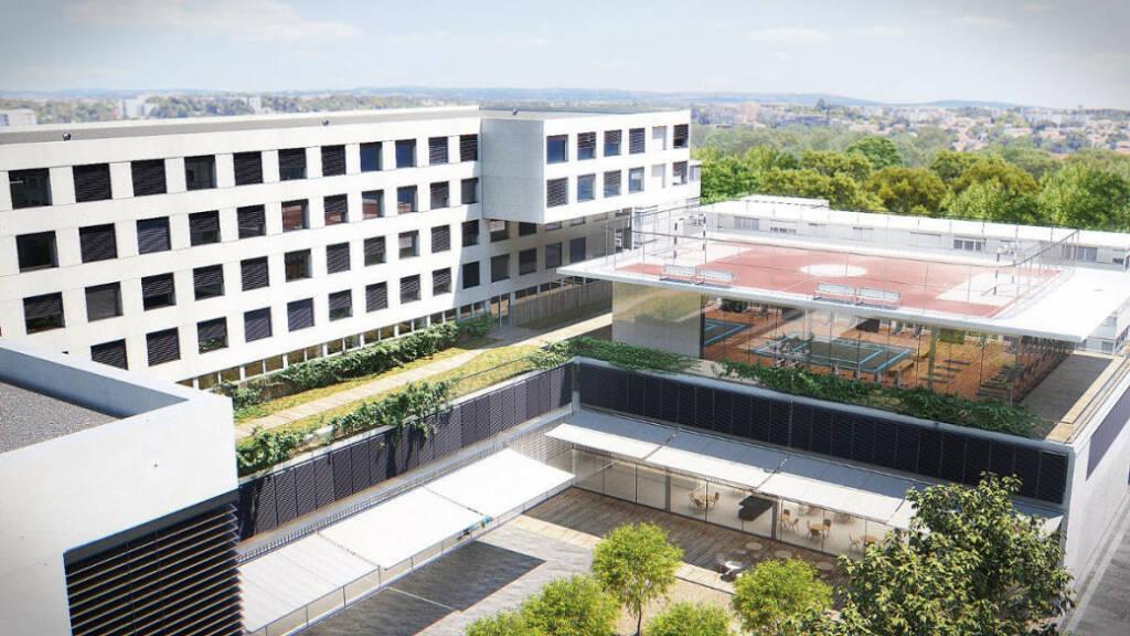 Future bâtiment de l'ETPA Montpellier